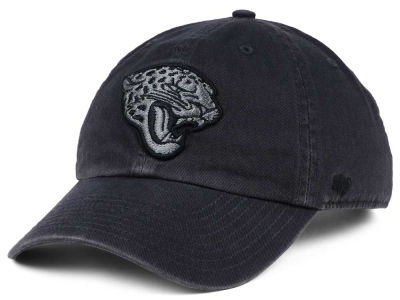 Jacksonville Jaguars '47 NFL Dark Charcoal CLEAN UP Cap