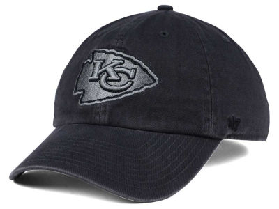 Kansas City Chiefs '47 NFL Dark Charcoal CLEAN UP Cap