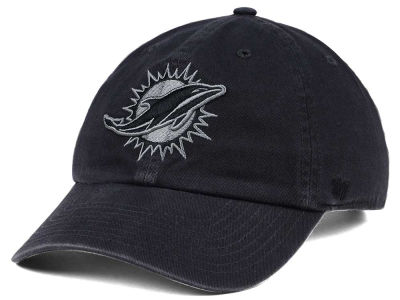 Miami Dolphins '47 NFL Dark Charcoal CLEAN UP Cap