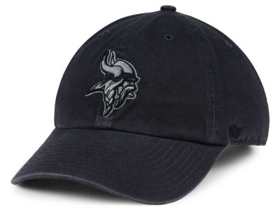 Minnesota Vikings '47 NFL Dark Charcoal CLEAN UP Cap