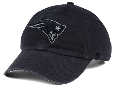 New England Patriots '47 NFL Dark Charcoal CLEAN UP Cap