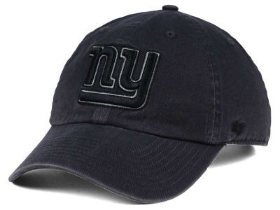 New York Giants '47 NFL Dark Charcoal CLEAN UP Cap