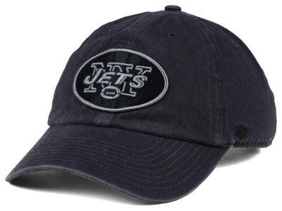 New York Jets '47 NFL Dark Charcoal CLEAN UP Cap