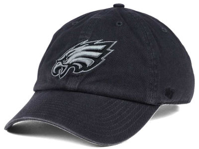 Philadelphia Eagles '47 NFL Dark Charcoal CLEAN UP Cap