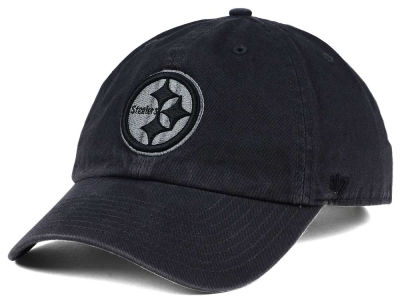 Pittsburgh Steelers '47 NFL Dark Charcoal CLEAN UP Cap