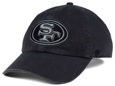 San Francisco 49ers '47 NFL Dark Charcoal CLEAN UP Cap
