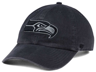 Seattle Seahawks '47 NFL Dark Charcoal CLEAN UP Cap