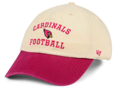 Arizona Cardinals '47 NFL Steady Two-Tone CLEAN UP Cap
