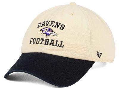 Baltimore Ravens '47 NFL Steady Two-Tone CLEAN UP Cap
