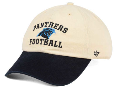 Carolina Panthers '47 NFL Steady Two-Tone CLEAN UP Cap