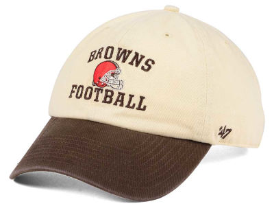 Cleveland Browns '47 NFL Steady Two-Tone CLEAN UP Cap