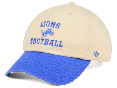 Detroit Lions '47 NFL Steady Two-Tone CLEAN UP Cap