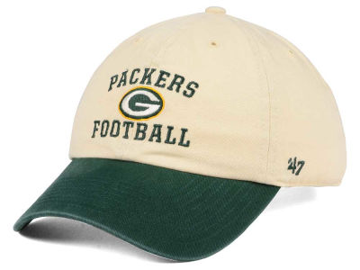 Green Bay Packers '47 NFL Steady Two-Tone CLEAN UP Cap