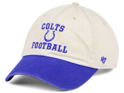 Indianapolis Colts '47 NFL Steady Two-Tone CLEAN UP Cap