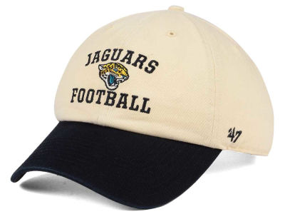 Jacksonville Jaguars '47 NFL Steady Two-Tone CLEAN UP Cap
