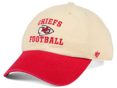 Kansas City Chiefs '47 NFL Steady Two-Tone CLEAN UP Cap