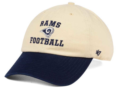 Los Angeles Rams '47 NFL Steady Two-Tone CLEAN UP Cap