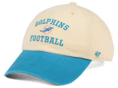 Miami Dolphins '47 NFL Steady Two-Tone CLEAN UP Cap