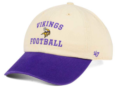 Minnesota Vikings '47 NFL Steady Two-Tone CLEAN UP Cap