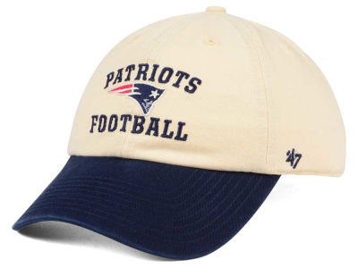 New England Patriots '47 NFL Steady Two-Tone CLEAN UP Cap
