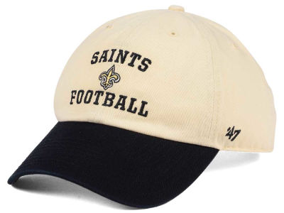 New Orleans Saints '47 NFL Steady Two-Tone CLEAN UP Cap