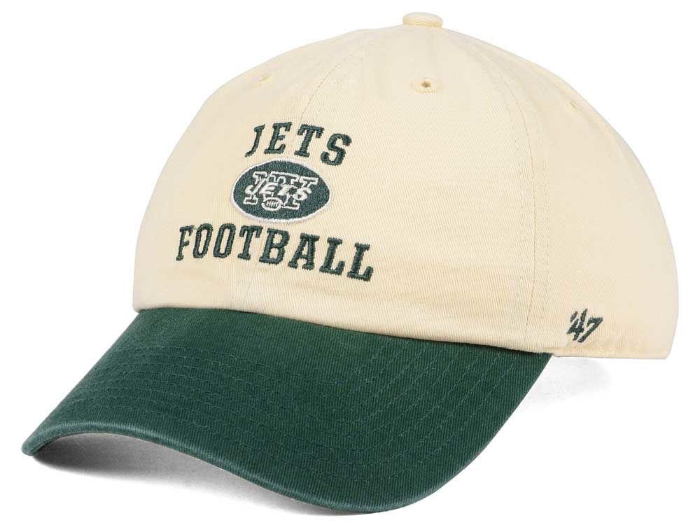 low priced 3a6fb b7724 ... discount code for new york jets 47 nfl steady two tone clean up cap  lids 94bca