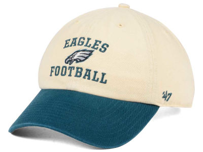 Philadelphia Eagles '47 NFL Steady Two-Tone CLEAN UP Cap