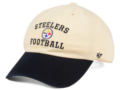 Pittsburgh Steelers '47 NFL Steady Two-Tone CLEAN UP Cap