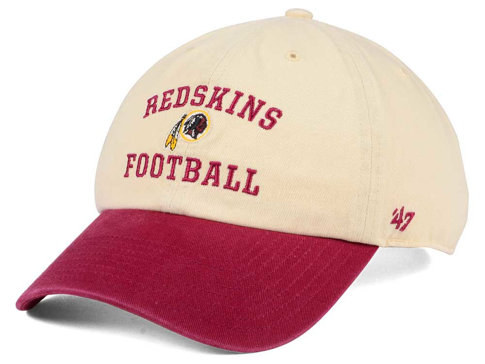 reputable site 600d0 8e7f5 ... low cost get washington redskins 47 nfl steady two tone clean up cap  2ff4d 49bfc bbf4e