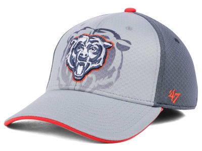 Chicago Bears '47 NFL Greyscale Contender Flex Cap
