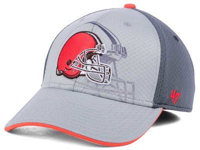 Cleveland Browns '47 NFL Greyscale Contender Flex Cap
