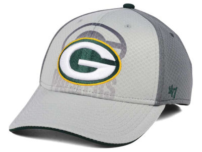 Green Bay Packers '47 NFL Greyscale Contender Flex Cap