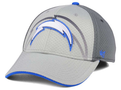 Los Angeles Chargers '47 NFL Greyscale Contender Flex Cap