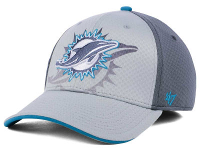 Miami Dolphins '47 NFL Greyscale Contender Flex Cap