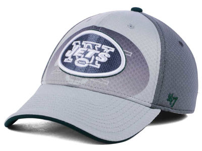 New York Jets '47 NFL Greyscale Contender Flex Cap