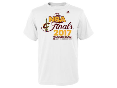 Cleveland Cavaliers adidas 2017 NBA Youth Conference Champ T-Shirt
