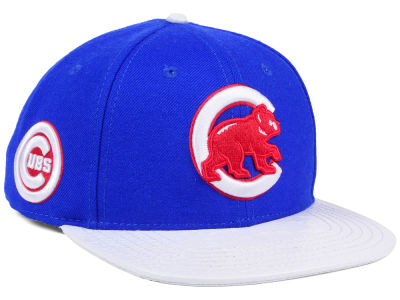 Chicago Cubs Pro Standard MLB Team White Strapback Cap