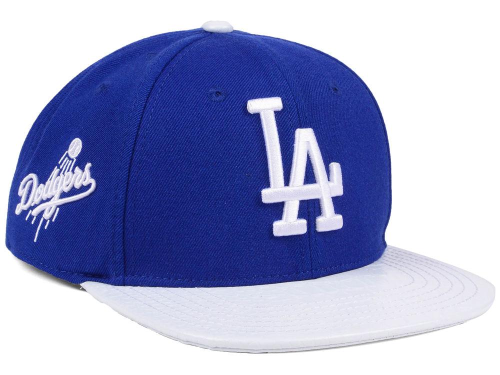 28675e2534e Los Angeles Dodgers Pro Standard MLB Team White Strapback Cap