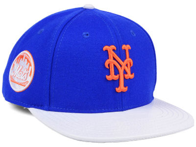 New York Mets Pro Standard MLB Team White Strapback Cap