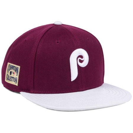 Philadelphia Phillies Pro Standard MLB Team White Strapback Cap