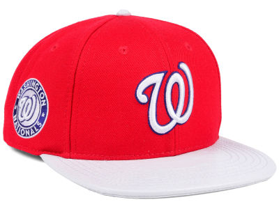Washington Nationals Pro Standard MLB Team White Strapback Cap