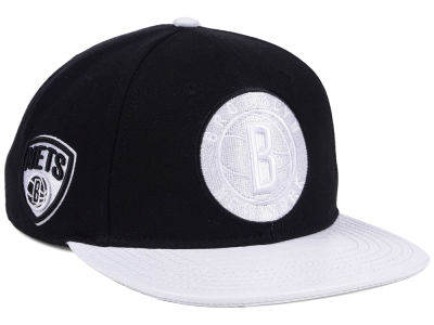Brooklyn Nets Pro Standard NBA Team White Strapback Cap
