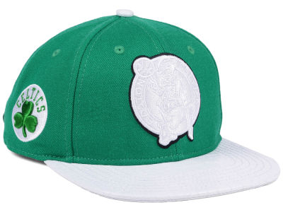 Boston Celtics Pro Standard NBA Team White Strapback Cap