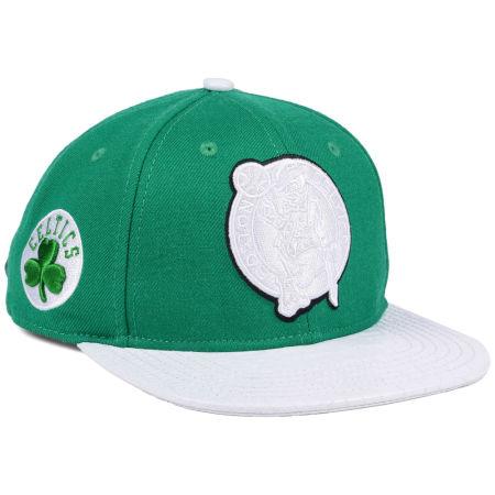 Boston Celtics Pro Standard NBA Team White Strapback Cap