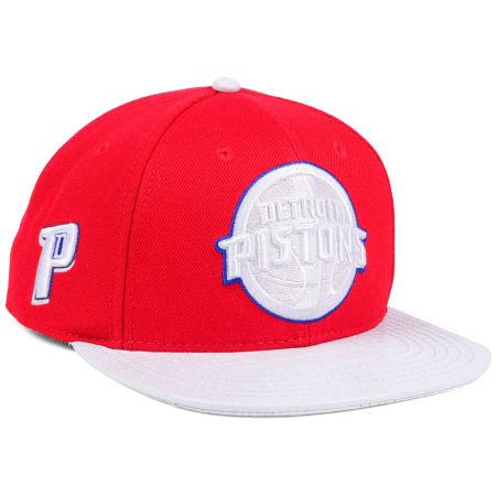Detroit Pistons Pro Standard NBA Team White Strapback Cap