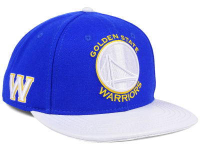Golden State Warriors Pro Standard NBA Team White Strapback Cap