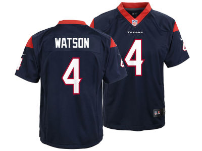 Houston Texans DeShaun Watson Nike NFL Youth Game Jersey