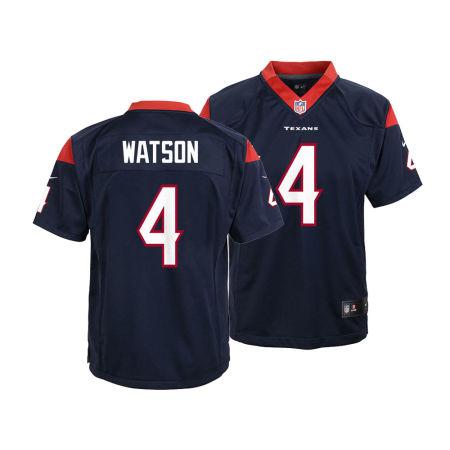 Houston Texans DeShaun Watson Nike NFL Youth Game Jersey