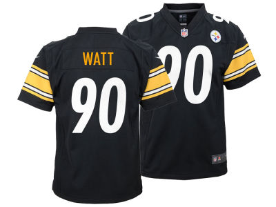 Pittsburgh Steelers T.J. Watt Nike NFL Youth Game Jersey