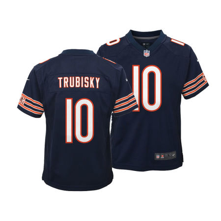 Chicago Bears Mitchell Trubisky Nike NFL Youth Game Jersey